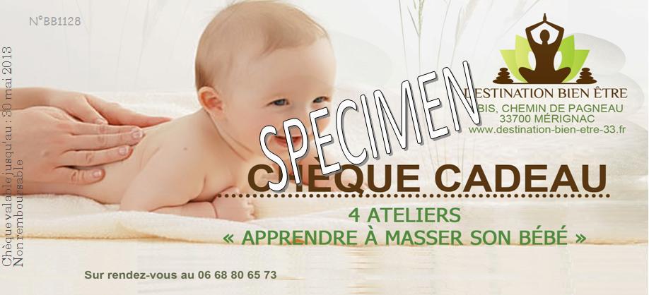 Préférence Apprenez a masser votre bébé - Destination Bien être AL26